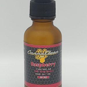 Raspberry Delta-8 THC Tincture - 1500mg